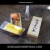 Kaunis puinen katanan hoitosarja